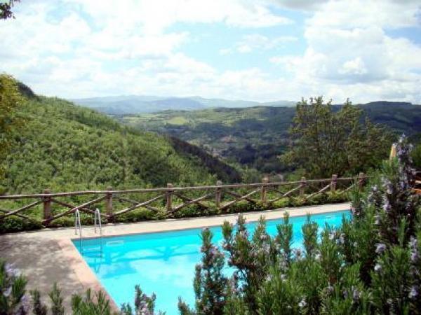 Prachtig vakantiehuis in Arezzo-Stia, Toscane