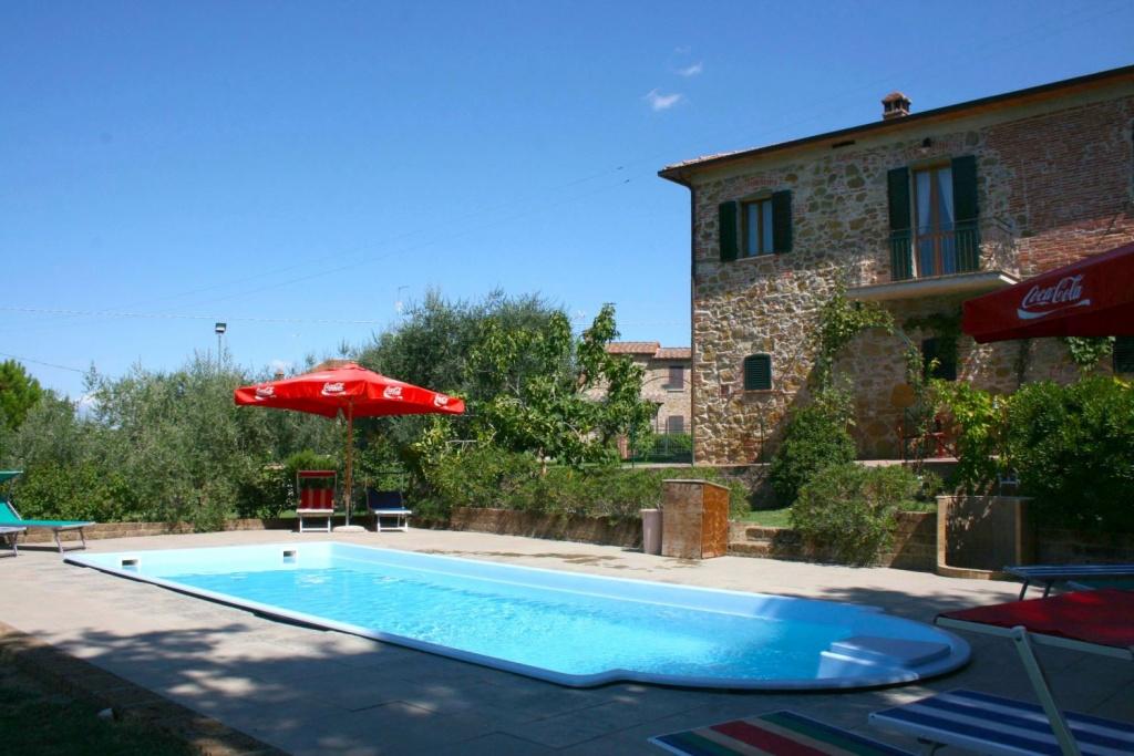 in Lucignano, Toscane