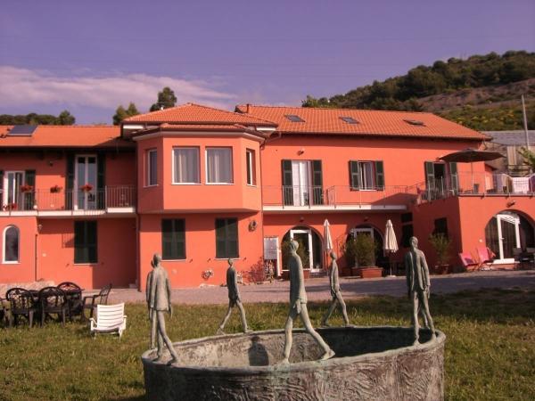 in San-Lorenzo-al-Mare, Ligurie
