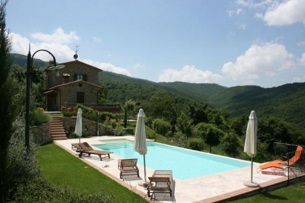 Prachtig vakantiehuis in Cantalena-Cortona, Toscane