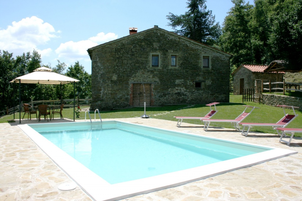 in Arezzo-Antria, Toscane