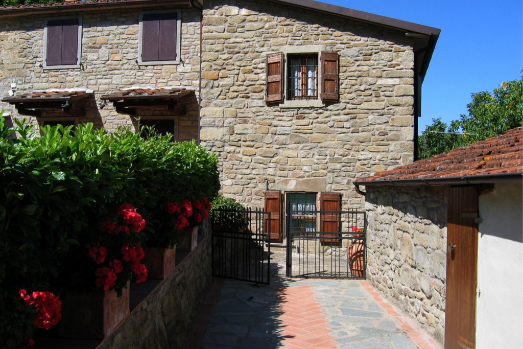 in Bibbiena, Toscane