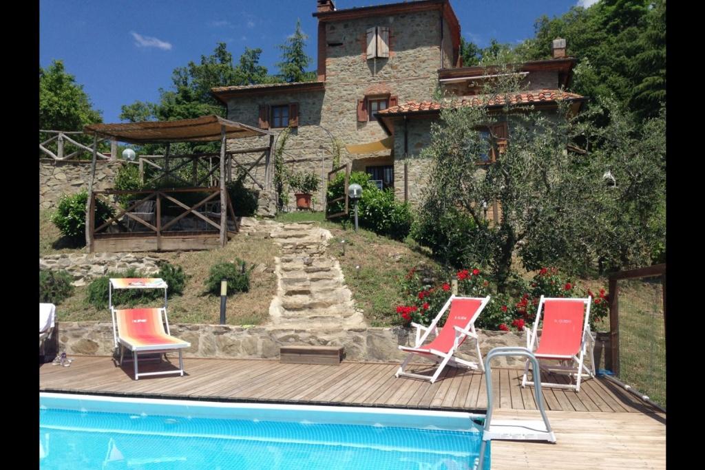 Prachtig vakantiehuis in Arezzo, Toscane