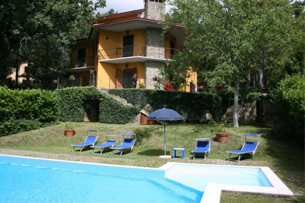 Prachtig vakantiehuis in Arezzo-Anghiari, Toscane