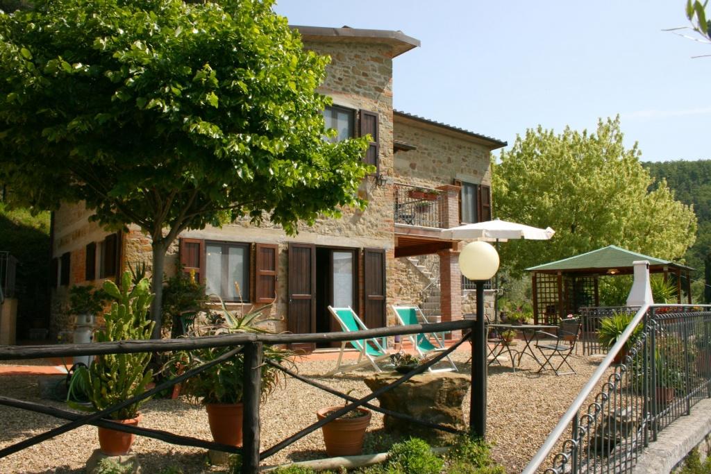 in San-Giustino-Valdarno, Toscane