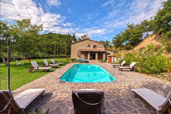 Prachtig familiehuis in Arezzo-Antria, Toscane