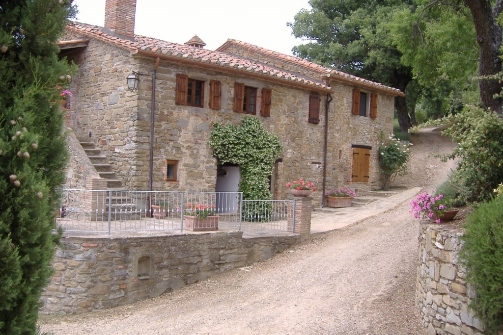 in Lisciano-Niccone, Umbrie
